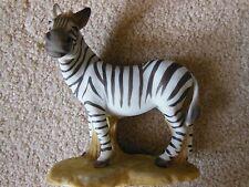 Vintage Zebra Figurine Aldon Accessories Dated 1974 N.Y.C.