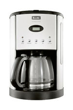 Breville BCM600 12 Cups Coffee Maker - Silver