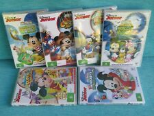 6 x MICKEY MOUSE CLUBHOUSE DVD MONSTER MUSICAL SUPER ADVENTURE DISNEY NEW MMCH