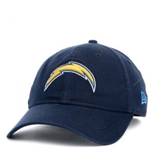 NEW Los Angeles Chargers Strapback Hat by New Era NFL Football Cap Blue Yellow