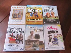 LES BODIN'S - 6 DVD - Grandeur Nature, Retour au Pays, Bienvenue à la Capitale..