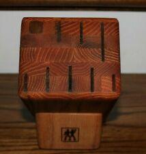 New listing J.A. Henckels 8 Slot Wood Knife Block