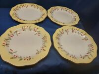 Vintage Better Homes And Gardens Tuscan Retreat Set/4 Dinner Plates Retired 2011