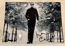 Michael Caine  Hand Signed Autograph 5x7 Photo Alfie VG Condition