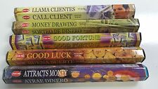 Hem Incense Stick Set 5 x 20 =100 Sticks Wicca Mixed Lucky Scents Free Shipping