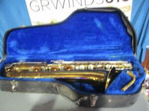 Selmer Signet Baritone Saxophone Range To Low A