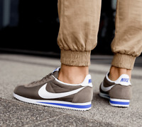 NIKE CLASSIC CORTEZ NYLON OG Trainers Casual Retro - Brown - UK Size 10 (EUR 45)