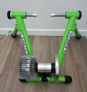 Kurt Kinetic T699-C Indoor Cycling Fluid Trainer Road Machine Green Bicycle