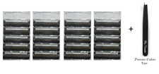 Gillette Atra Plus Razor Blade Cartridges, Bulk Packaging, 20 Count + Tweezer