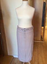 Olsen Skirt Size 20 Beige Straight Linen Belt Now
