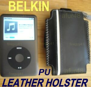 $30 BELKIN Stitched Holster Case BUNDLE~Apple IPOD Classic Video All gen & sz GB