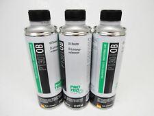 3x PROTEC Oil Booster 375ml Ölverbesserer PRO-TEC P1301 Öl Leistungsverbesser