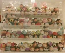 Display Case for Disney's Tsum Tsums Acrylic New in Box - Estimated Capacity 100