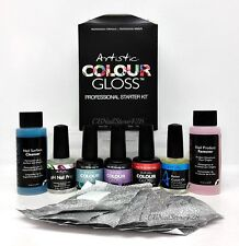Artistic Colour Gloss Gel Nail Colors- Professional Starter Kit