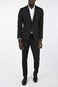 DSQUARED2 men Suit Jackets Size 48 Ita Gray Single Breasted Blazer D2 Gray 48...