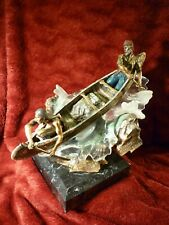 """C.A. Pardell bronze Legends LE S/N """"Saving Their Skins"""" 228/950"""