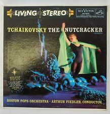 Tchaikovsky The Nutcracker - Living Stereo RCA Victor Boston Pops 1958 LP Vinyl