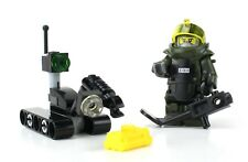 EOD Disposal Team and Robot US NAVY made with real LEGO® minifigures