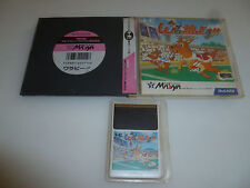 JAPAN IMPORT PC ENGINE GAME WALLABY HE SYSTEM W CASE & MANUAL NCS