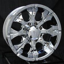 17 inch Chrome Wheels/Rims Chevy GMC Dodge 2500 3500 8 Lug Trucks Hummer H2 Helo