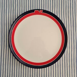 Vineyard Vines × Target - Lot of 4 Red, White, & Blue Whale Line Plates - New