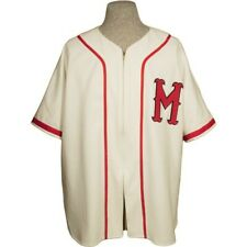 MINNEAPOLIS MILLERS Ebbets Field Flannels Vintage Wool Jersey Ted Williams era L