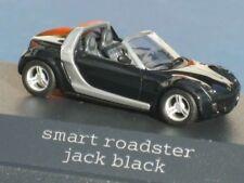 VERY RARE MERCEDES SMART ROADSTER R452 JACK BLACK 1:87 BUSCH (DEALER MODEL)