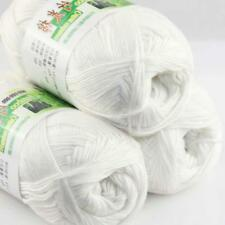 Sale Lot 3 ballsx50g Super Soft Bamboo Cotton Baby Hand Knitting Crochet Yarn 01