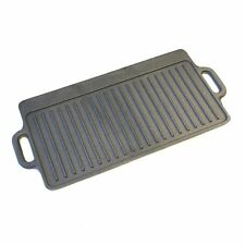 Stylish,Solid Cast Iron Griddle Plate With Non-Stick Coating Gas & Electric Hobs