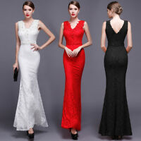 Abendkleid Ballkleid Partykleid Spitze TOP Kleid Hochzeitskleid Brautkleid BC433