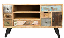 Entertainment Unit TV Stand Sideboard Cabinet Scandinavian Retro Industrial