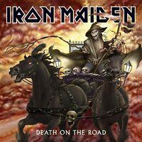 IRON MAIDEN 'DEATH ON THE ROAD (LIVE)' 2 LP VINYL NEU