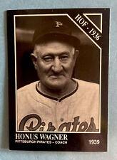1991 The Sporting News #8 Honus Wagner Pittsburgh Pirates