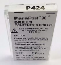 COLTENE ParaPost drill .040 yellow 3/pack. PARA POST X P424