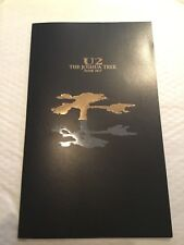 U2 Tour Programme THE JOSHUA TREE TOUR 2017 - MINT CONDITION