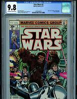 Star Wars #3 CGC 9.8 NM/MT 1977 Leia's Rescue Marvel Comic K4 Amricons