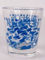 "Atlantic City Chips And Dice 2.25"" Collectible Shot Glass"