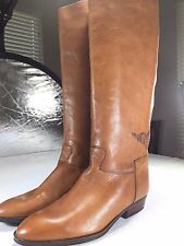 Genuine Made in Italy Leather Knee-high Boots, Italian size 40