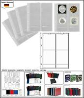 10 x LOOK 321507-10 MÜNZHÜLLEN NUMOH 66 - NH4 - 4 Fächer Für Münzen bis 66 mm