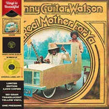 Johnny Guitar Watson – A Real Mother For Ya (Sealed New Yellow VINYL LP )
