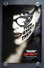 THE SPIRIT Original 2000s OS Movie Poster Scarlett Johansson is Silken Floss