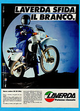 MOTOSPRINT986-PUBBLICITA'/ADVERTISING-1986- LAVERDA ENDURO OR 50 ATLAS