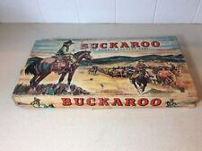 BUCKAROO The Cowboy Roundup Game Milton Bradley 1947