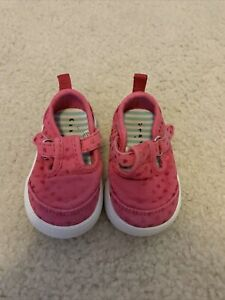baby girl size 2 pink casual shoes