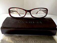 BCBG Max Azria Eyeglasses Carrie, Brand New, Eggplant Marble Women's Plastic