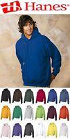New 24 Hanes Hooded Hoodies Sweatshirt Lot Mix Colors Wholesale  Blanks Plain