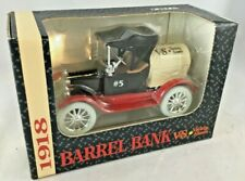 Barrel Coin Bank V&S Variety Stores Die Cast Ertl 1993 Vintage Boxed Near Mint