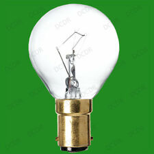 15W Transparent Incandescent à Variation Rond Ampoules Eclairage Balle de Golf,