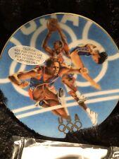 "1996 Atlanta Centennial Olympics Avon ""Team Usa"" Commemorative Plate-Mib"