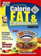 Calorie, Fat & Carbohydrate Counter (The Calorie King)-ExLibrary